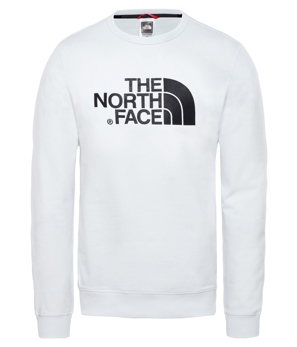 THE NORTH FACE M DREW PEAK CREW LHT TNF WHITE