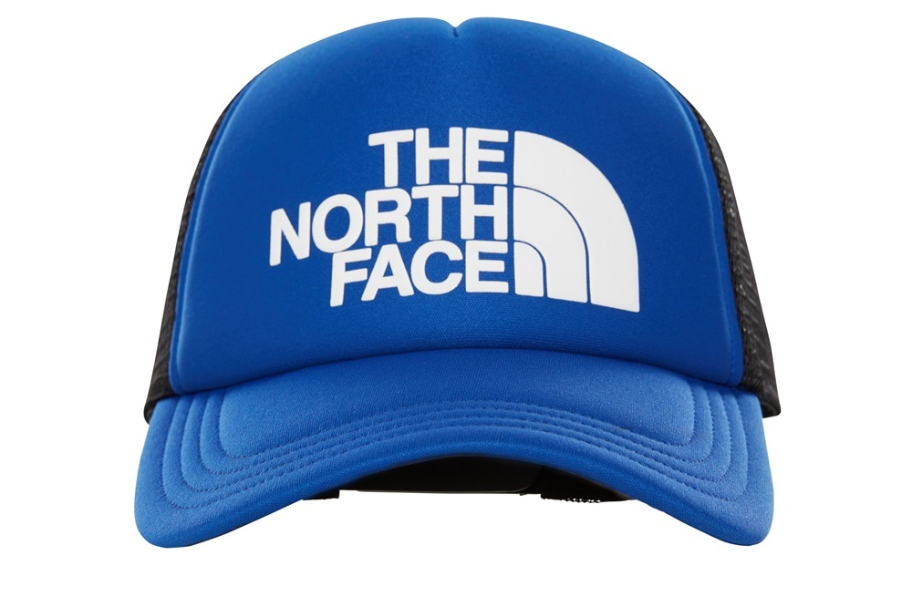THE NORTH FACE TNF LOGO TRUCKER AZTEC BLUET/TNF BLANCO
