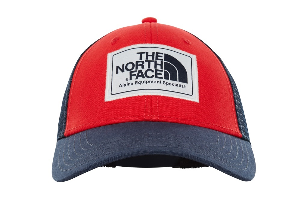 THE NORTH FACE MUDDER TRUCKER HAT TNF RED/URBAN N