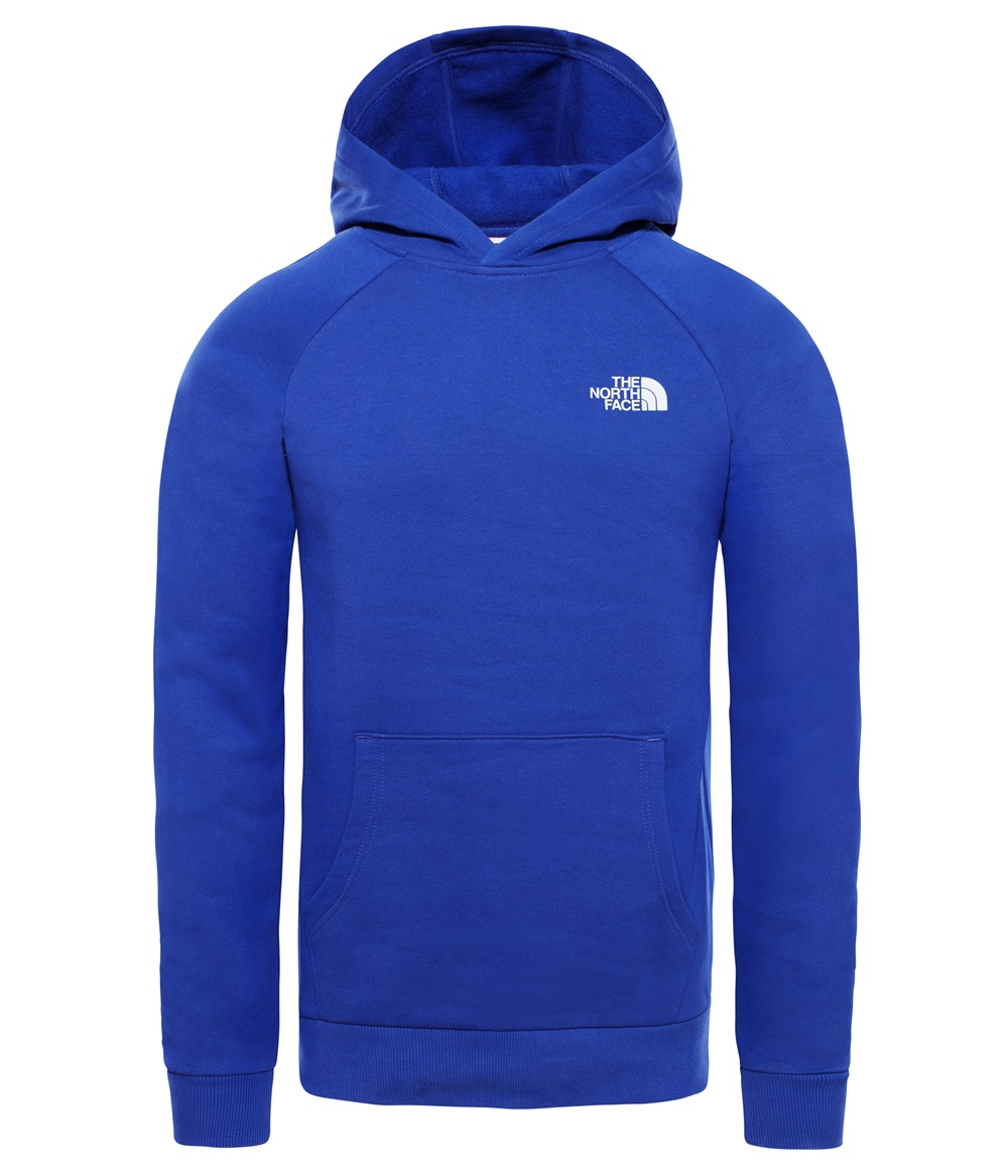 THE NORTH FACE M RAGLAN RED BOX HD LAPIS BLUE