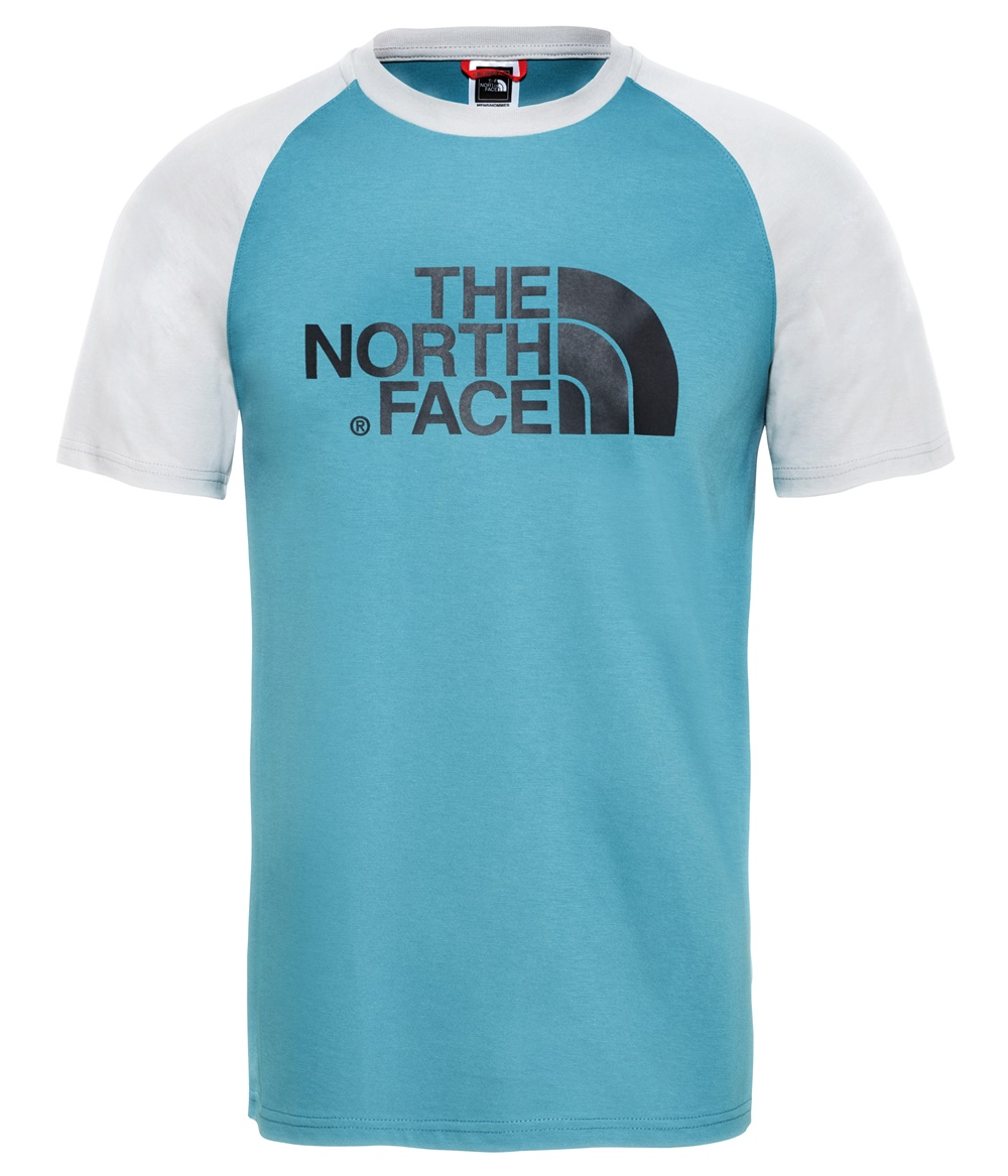 THE NORTH FACE M SS RAGLAN EASY TEE STORM BLUE