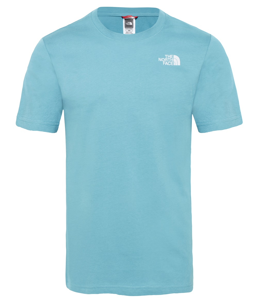 THE NORTH FACE M S/S RED BOX TEE STORM BLUE
