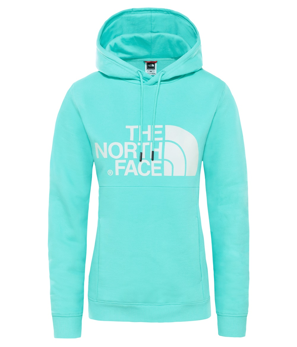 THE NORTH FACE W DREW HOODY RETRO GREEN