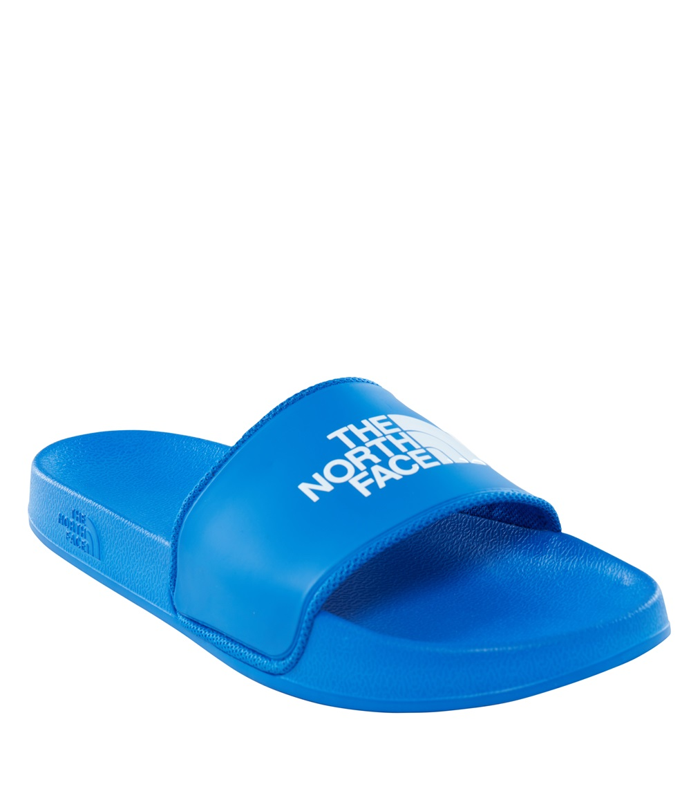 chanclas north face azules