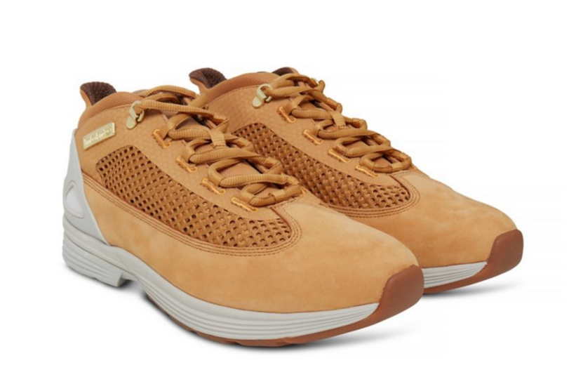 Zapatillas Timberland modelo Kenetic Fabric and Leather para hombre en color beige