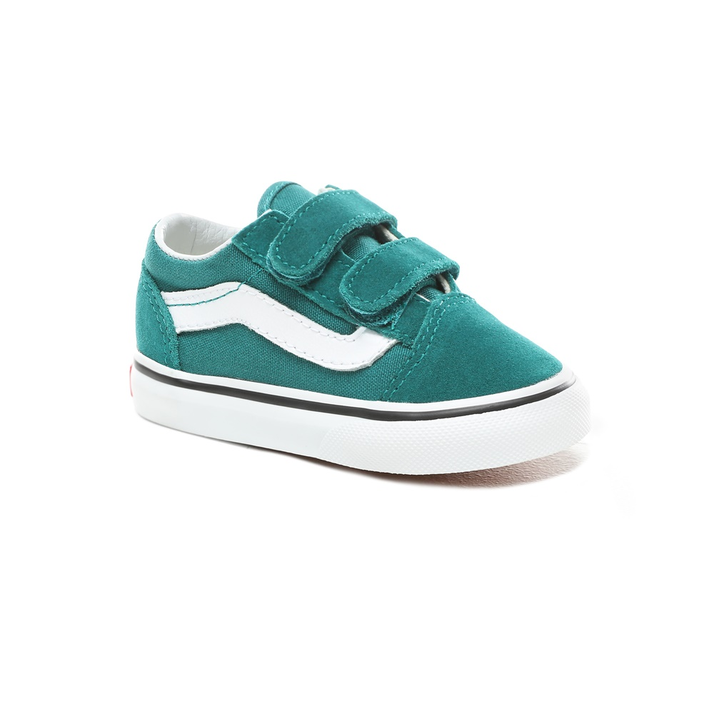 Zapatillas Vans modelo Old Skool V en color verde para baby-g