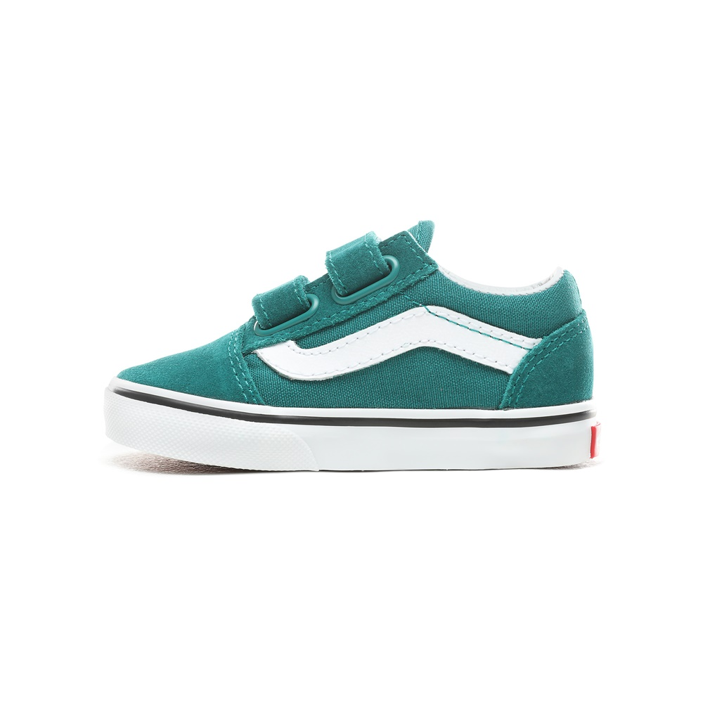 Zapatillas Vans modelo Old Skool V en color verde para baby-b