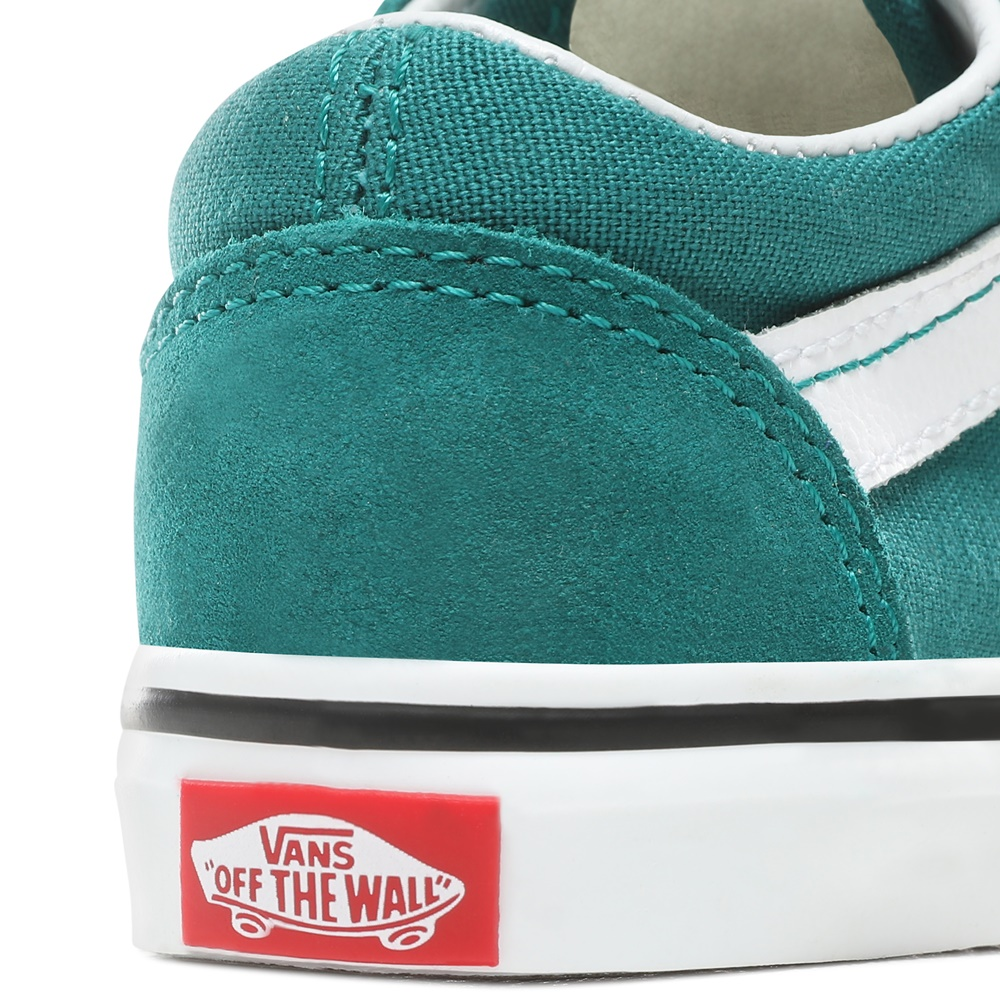 Zapatillas Vans modelo Old Skool V en color verde para baby-e