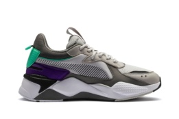 PUMA RS-X TRACKS GRAY VIOLET-CHARCOAL