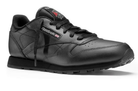 best service 61c42 de6cc REEBOK CLASSIC LEATHER NEGRO