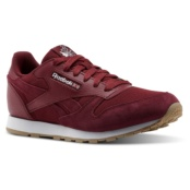 REEBOK CL LEATHER ESTL URBAN MAROON/WHITE