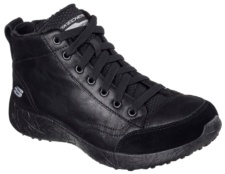 SKECHERS - BURST - CARRIED AWAY BLACK MICROLEATHER / TRIM