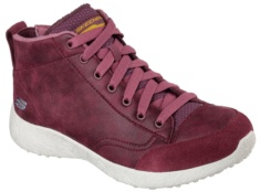 SKECHERS - BURST - CARRIED AWAY BURGUNDY MICROLEATHER / TRIM