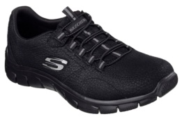 SKECHERS - EMPIRE- TAKE CHARGE BLACK TEXTILE/ TRIM