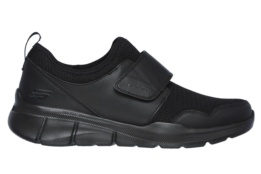 SKECHERS - EQUALIZER 3.0 BLACK MESH/PU/TRIM