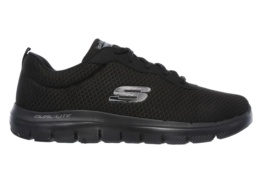 SKECHERS - FLEX ADVANT BLACK/BLACK