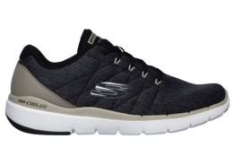 SKECHERS - FLEX ADVANTAGE 3.0- STALLY BLK