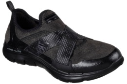 SKECHERS - FLEX APPEAL 2.0-BRIGHT EYED Black Brushed Textile / Hot Melt