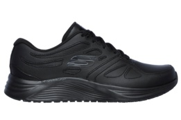 SKECHERS - SKYLINE-TRANSIENT BLACK LEATHER / TRIM #L