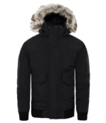 THE NORTH FACE B GOTHAM DOWN JKT BLACK/BLACK BLACK/BLACK