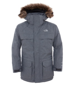 THE NORTH FACE B MCMURDO DOWN CHARCOAL GR HTR