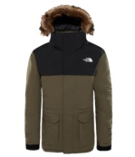 THE NORTH FACE B MCMURDO DOWN PARKA NEW TAUPE GRN NEW TAUPE GRN