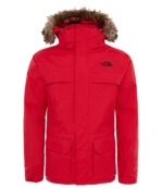 THE NORTH FACE B MCMURDO DOWN PARKA RED