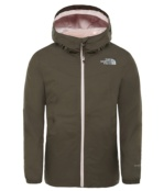 THE NORTH FACE G ELIANA RAIN TRI NEW TAUPE GRN NEW TAUPE GRN
