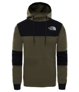 THE NORTH FACE M HIMALAYAN HOODIE NEW TAUPE GREEN NEW TAUPE GREEN