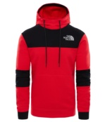 THE NORTH FACE M HIMALAYAN HOODIE TNF RED TNF RED