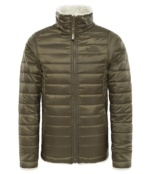 THE NORTH FACE G REV MOSSBUD S JKT NEW TAUPE GRN NEW TAUPE GRN