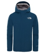 THE NORTH FACE Y SNOW QUEST JKT BLUE WING TEAL BLUE WING TEAL