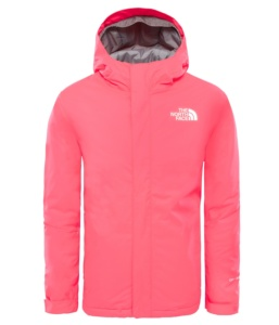 THE NORTH FACE Y SNOW QUEST JKT ROCKET RED ROCKET RED