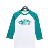 VANS BY OTW RAGLAN BOYS WHITE/QUETZAL