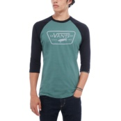 VANS M FULL PATCH RAGLAN DARK FOREST