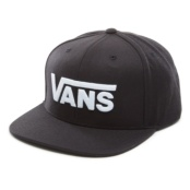 VANS MN DROP V II SNAPBAC BLACK/WHITE