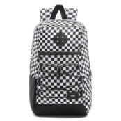 VANS MN SNAG BACKPACK Black/White Che