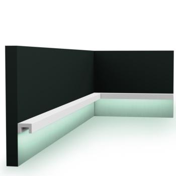 Cornisa de iluminación indirecta