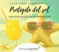 PROTEGETE DEL SOL EN FARMACIA CARRERA