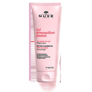 Nuxe gel desmaquillante facial petalos de rosa 125ml