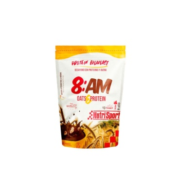Nutrisport 8:AM batido protein breakfast chocolate 650gr