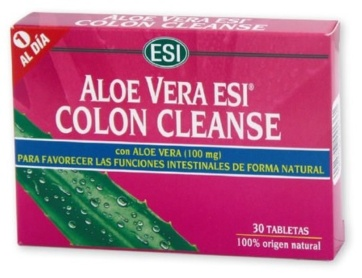 ALOE VERA ESI COLON CLEANSE 30 TABLETAS
