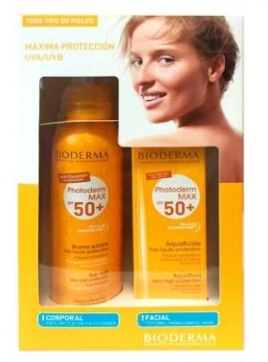 Bioderma pack photoderm bruma solar + crema aquafluid 40ml