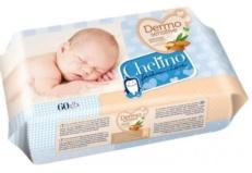 Toallitas humedas culito bebe Chelino 60 unidades