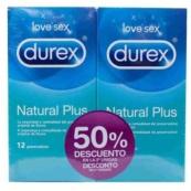 DUREX NATURAL PLUS 12+12 UNIDADES PACK OFERTA