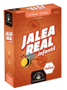 EL NATURALISTA JALEA REAL INFANTIL 100 MG 20 VIALES