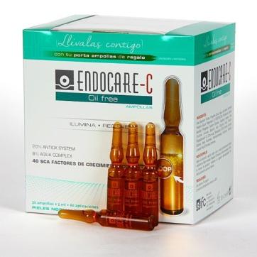 Endocare C Oil Free ampollas antioxidantes iluminadoras 30 ampollas