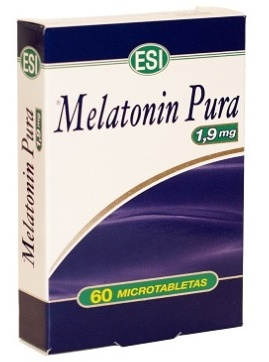 MELATONIN PURA 1,9mg 60 MICROTABLETAS