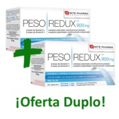 PESO REDUX 900 MG PACK DOBLE
