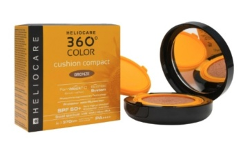 Heliocare 360º Color Cushion Compact bronze Maquillaje solar